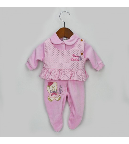 Macacão Plush - Bloomys Baby Rosa