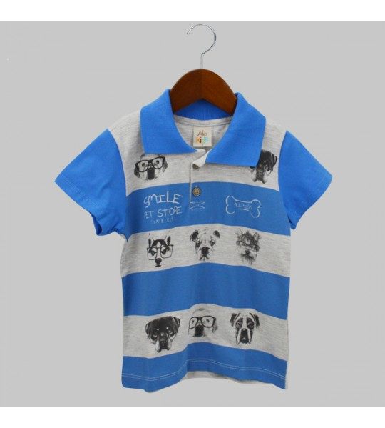 Camiseta - Cachorrinhos - Ale Kids